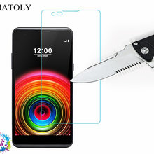 2PCS Tempered Glass sFor LG X Power Ultra-thin Screen Protec