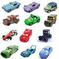 19 estilos pixar cars 2 finn mcmissile doc hudson fabuloso Sally hudson Fillmore 1/42 Escala Diecast Metal de la Aleación Diecast niños juguete