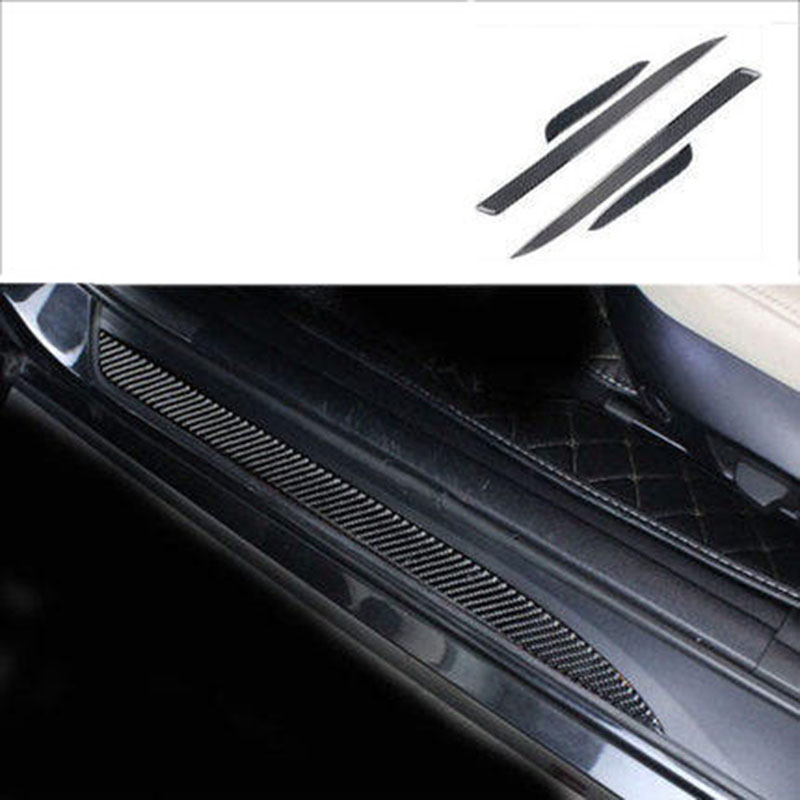 lsrtw2017 carbon fiber car door sill threshold for bmw 3 series 320 318 316 325 330 335 340 328 e90 e91 in Interior Mouldings from Automobiles Motorcycles