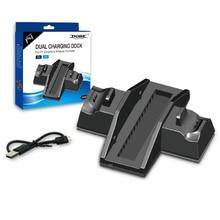 PS4 ve PS4 PRO Dikey Standı ile Soğutma Fanı Sony Playstation 4 Konsolu ve Controller için Çift Şarj İstasyonu