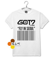 got 7 got7 shinee kpop clothes ulzzang harajuku style korean k-pop k pop bts exo bigbang harajuku shirt korean style rock 6