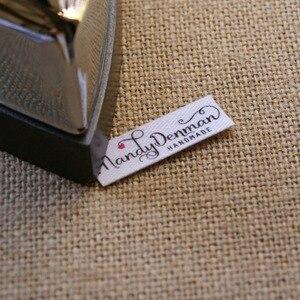 Image 4 - 96 miếng Tùy Chỉnh logo nhãn/Thương hiệu nhãn, cá tính thẻ tên dành cho trẻ em, sắt trên, tùy chỉnh Quần Áo Nhãn, Thẻ Tên