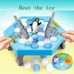 حار لعبة الجليد كسر حفظ البطريق للأطفال اللعب ل أطفال مضحك هدايا ألعاب الكبار البطريق لعبة اطفال الرياضة اللعب
