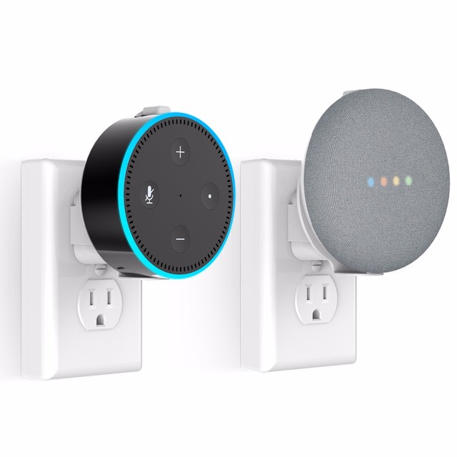 MYRIANN Outlet Wall Mount Holder Stand for Google Mini / Dot 2nd Generation Clean