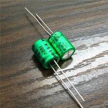 10 sztuk 3.3uF 100V ELUM NP 8x11.5mm 100V3.3uF bipolarny aluminiowy kondensator elektrolityczny