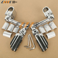 22mm 30mm 35mm Chrome Front Pegs FootPegs Footrest For Honda Goldwing GL1800
