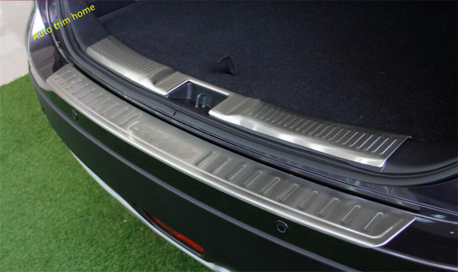 Stainless Inside Door Sill Scuff Plate Guard Pedal for Toyota Sienna 2016 2017