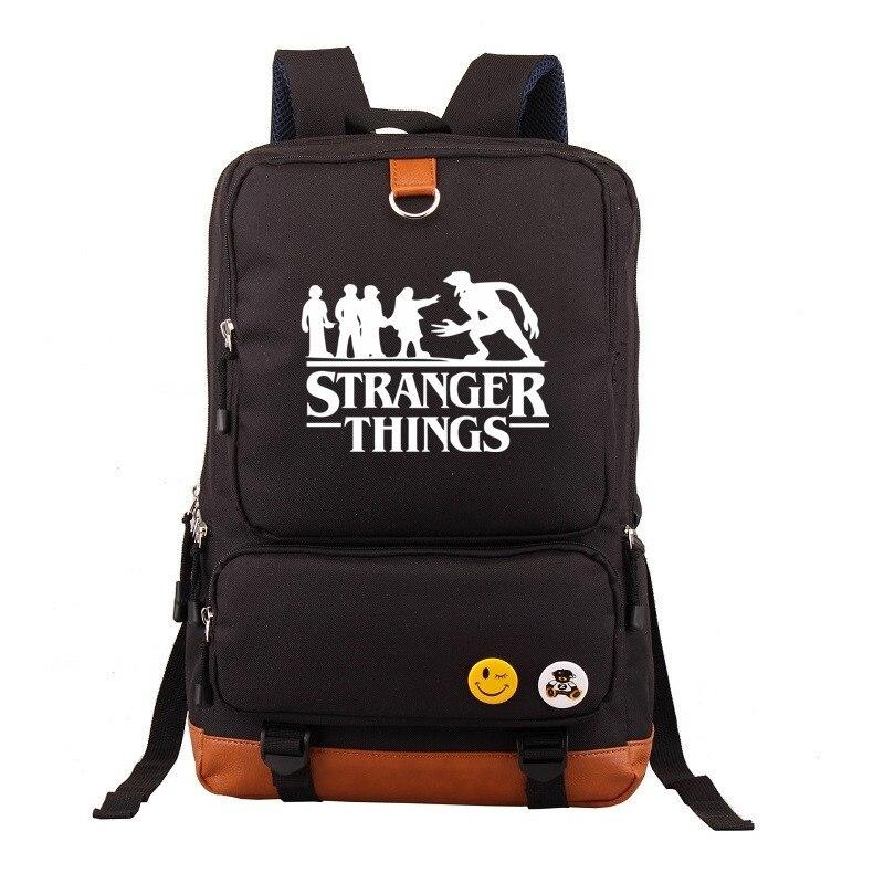 Mochila Stranger Things Backpack Women's Bag Men's Laptop Backpack School Bags For Teenagers Boys Girls's Backpack Travel Bags
