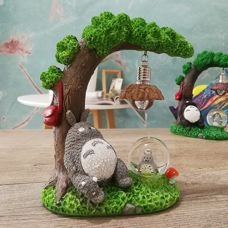 Beau ... My Neighbor Totoro U2013 Home Decor Night Lamp With Crystal Ball U2013 2 Styles  Available ...
