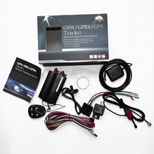 GPS del coche Sistema de Seguimiento GPS GSM GPRS Vehículo Tracker Localizador TK103B con Control Remoto 12 v-24 v Anti-robo