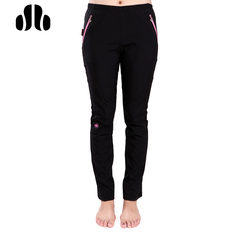 LANCE Winter Women Running Pants Windproof Fit Tight Sport Pants Breathable Reflective Hiking Cycing Fitness Sports Trousers-in Running Pants from Sports & Entertainment    1