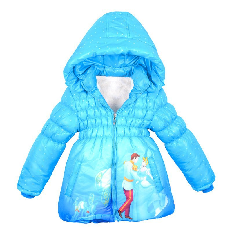 Baby Girl Padded Jacket