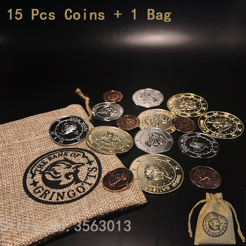 16 Pcs/set Hp Bank Coins Collection