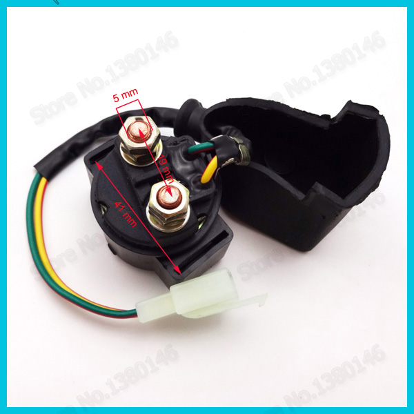 5 Pin AC CDI Ignition Coil Starter Solenoid Relay 12v 4 Pin