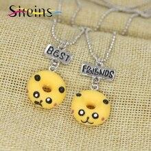 [2 piece] Best Friends Pokemon Pikachu Necklaces