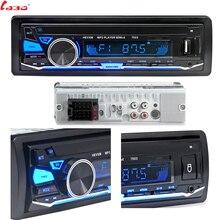 LaBo 12 v Per Auto Bluetooth Radio Stereo Fm MP3 Audio 5V-Charger USB di DEVIAZIONE STANDARD MMC AUX Auto Elettronica In- dash Autoradio 1 DIN NESSUN CD