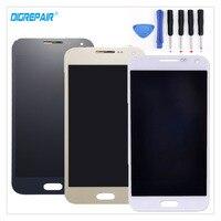 AAA Xám/Trắng/Xanh/Vàng Cho Samsung Galaxy E5 E500 E5000 E500F E500H E500Y E500A E500M LCD hiển thị Cảm Ứng Digitizer + Công C