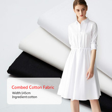 100% Cotton Fabric 90x88 Lining Solid Color Plain Garment Bedding Cover Cloth Baby Close-fitting