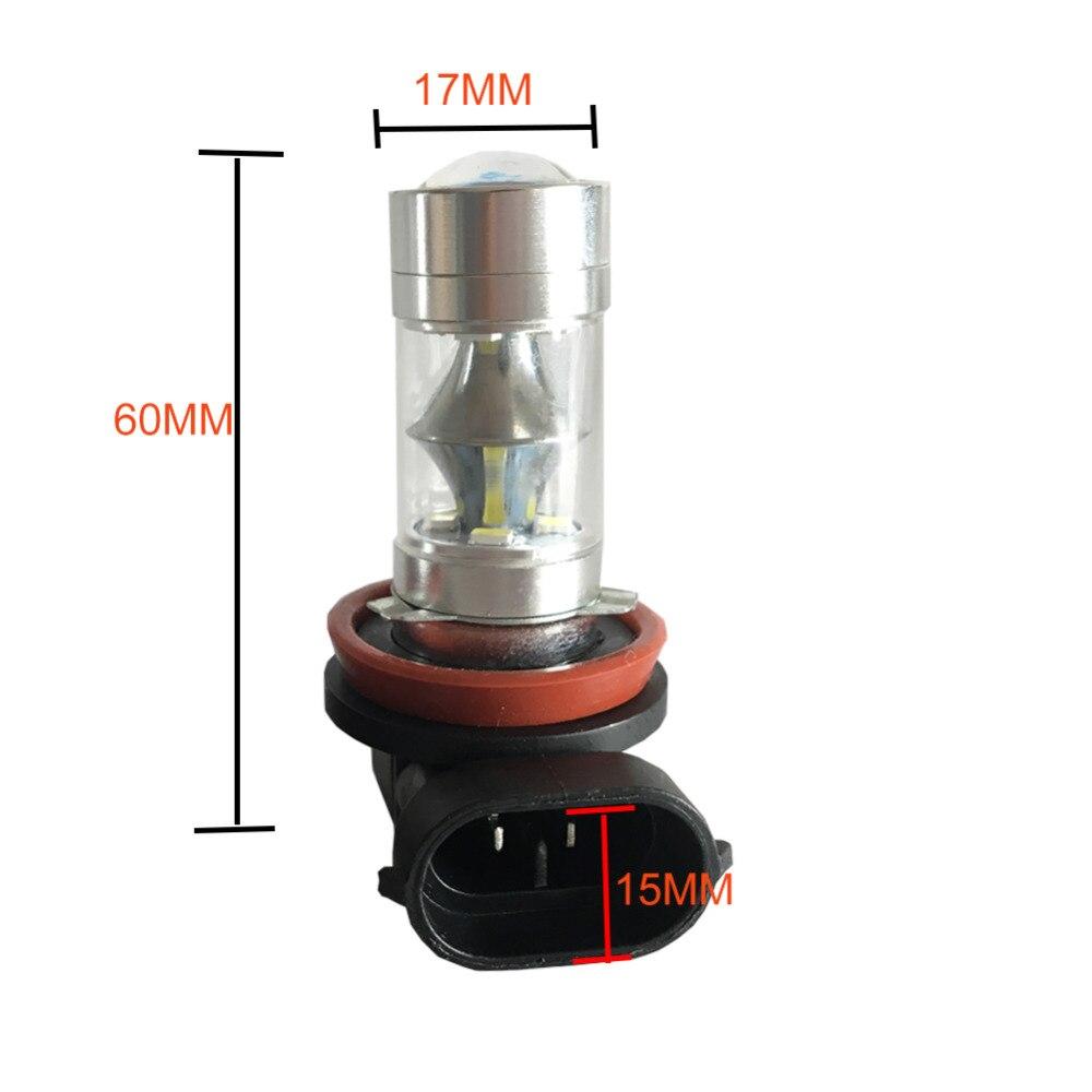 ένα ζεύγος 750LM 60W H8 H9 H11 LED Φώτα - Φώτα αυτοκινήτων - Φωτογραφία 4