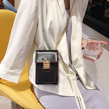 Badouqiu 2019 Women PU Leather Small Handbag Designer Chain Black Female Crossbody Bag Handbags Ladies Hand Bags Shoulder A5