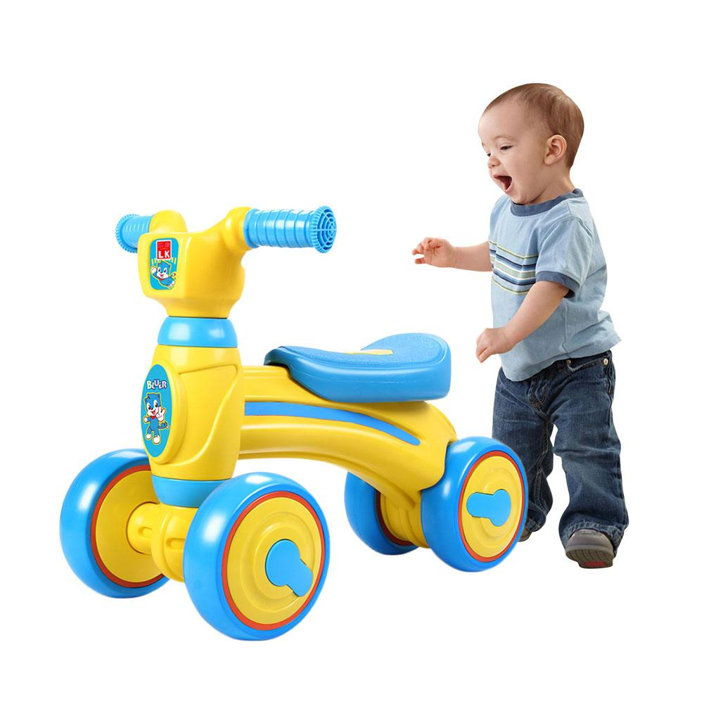 Children's balance slide Bike yo car twisting bike Sliding Walking Learning Bike for 1 3 Y baby