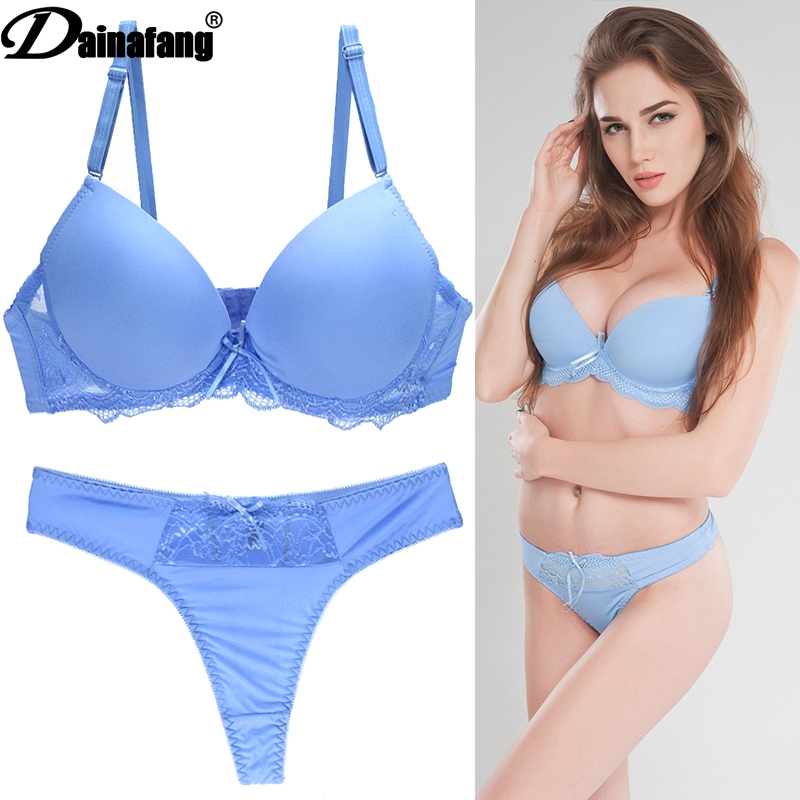 New 2019 Sexy Seamless One Piece Intimates   Bras   & Lingerie   Set   for Women Ladies Push Up Plunge   Bra   Dress   Set
