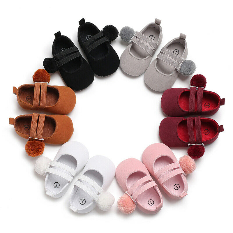 Infant Baby Girl Shoes Casual Soft Sole Newborn Shoes Pure Color Ball Baby Shoes Girls Cute Anti-slip Baby Shoes Summer 2019