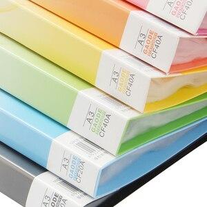 Image 5 - حافظة ملفات بلاستيكية A3 بيانات الكتاب صفحة ملونة 20 إدراج كليب 8 كيلو رسومات ألبوم ملصق A3 مجلد ملفات ل مكتب