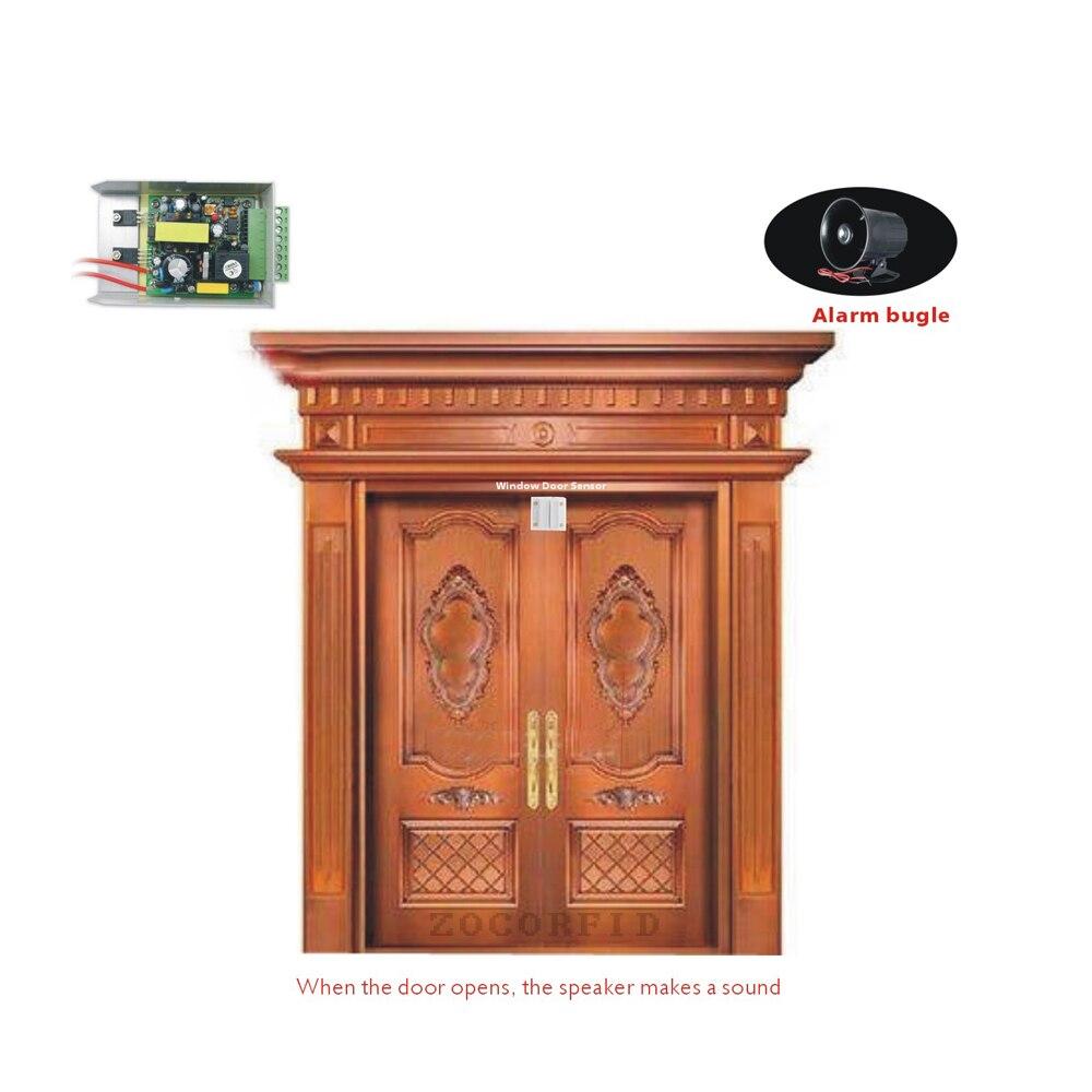 DIY Kapı Pencere Giriş Güvenlik Sensörü anahtarı Kontrol Kapı Sensörü Alarm/hırsız güvenlik alarmı Sistemi Ev Koruma Seti