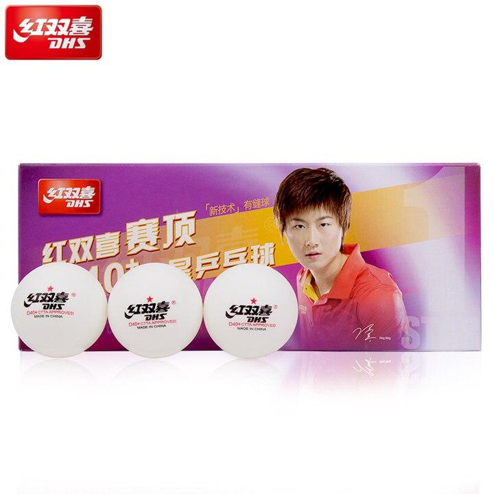 20 Balls/lot DHS D40+ Table Tennis Balls Seamed New Material Plastic Poly Ping Pong Balls Tenis De Mesa
