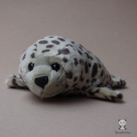 Lovely Harbor Seal Dolls Toy Children Birthday Gifts Simulation Marking Seals Doll Plush Animals Toys Store