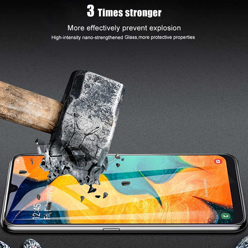 9D  Cover Glass for Samsung Galaxy A9 Pro A8 A7 A6 Plus A9S A8S A2 Core High Quality Smartphone Glass for Galaxy M30 M20 M10