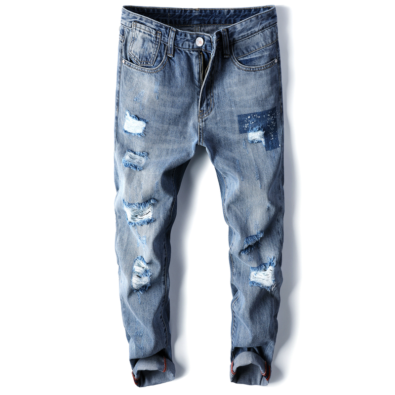 Designer Slim Jeans Men's