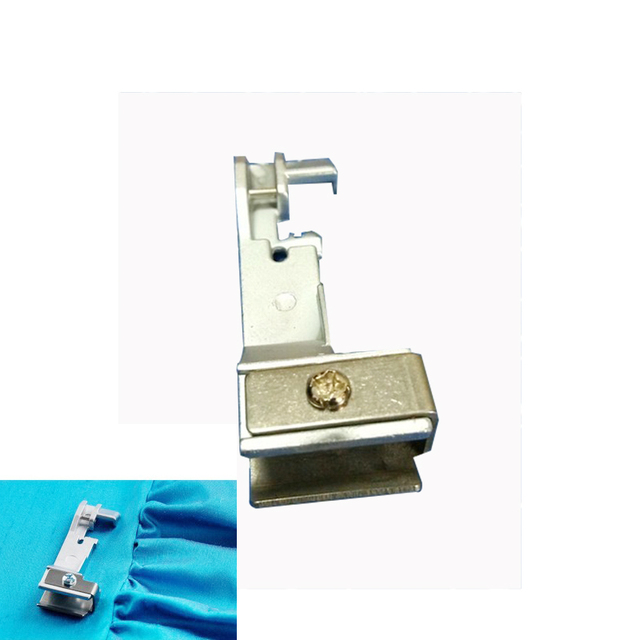 US $3 89 |Domestic Serger Machine Parts Shirring Foot Singer #550620 For  14SH654 14SH644 14CG754 14U554 14U555 14U557-in Sewing Tools & Accessory  from