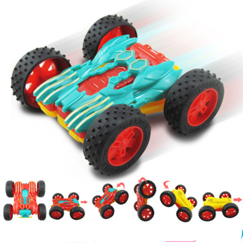 Mini Toy Cars For Boys : New cool flip sides of inertia toy mini cars for