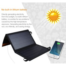 7W USB Foldable Solar Charger Solar Panel Module Waterproof for Cell Phone iPhone Samsung Xiaomi iPad Tablet PC