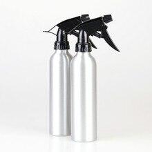 1 peça 250 ml Garrafa Bomba Pulverizador De Pressão De Alumínio para Cabeleireiro Flores Água Pulverizador Ferramenta de Tatuagem