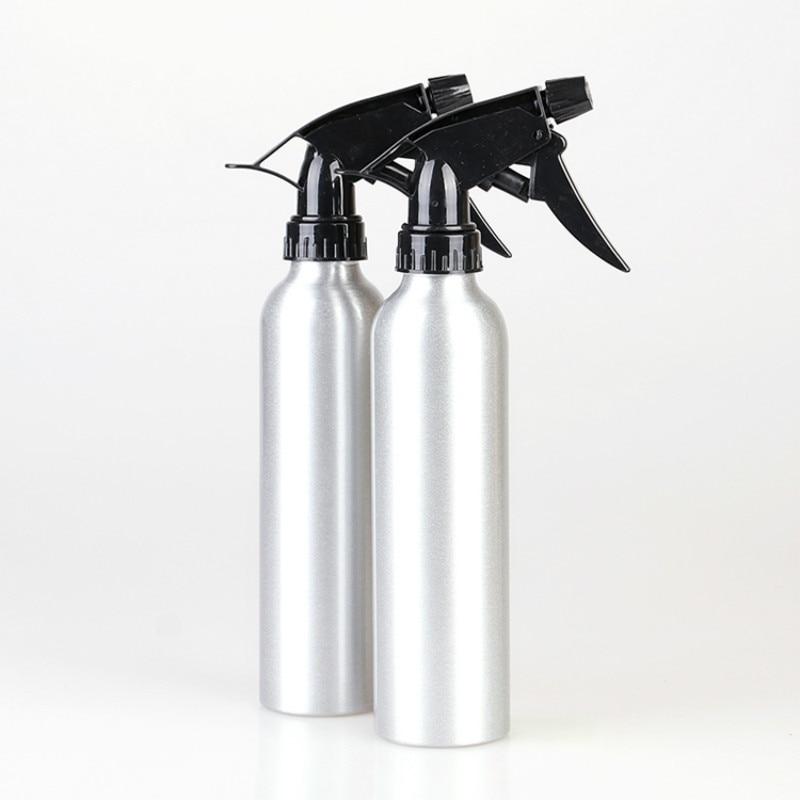 1 Piece 250ml Aluminum Pressure Sprayer Spray Pump Bottle For Hairdressing Tattooing Flowers Water Sprayer Tool
