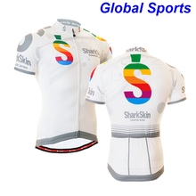 2017 Team Pro maillot Cycling Jersey Short Sleeve Cycling clothing White Mountain Bike Clothing Racing Bicycle Sportswear