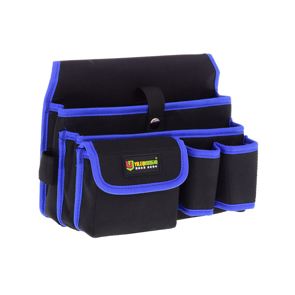 Waterproof Tool Bag Wear-resistant Electrician Bag Multifunctional Maintenance And Construction Waist Bag With Detachable Belt
