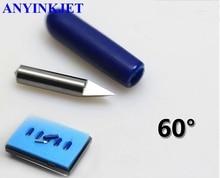 5pcs 60 Degree High Quality Loline blade Loline knife for Ioline Vinyl Cutter Plotter стоимость