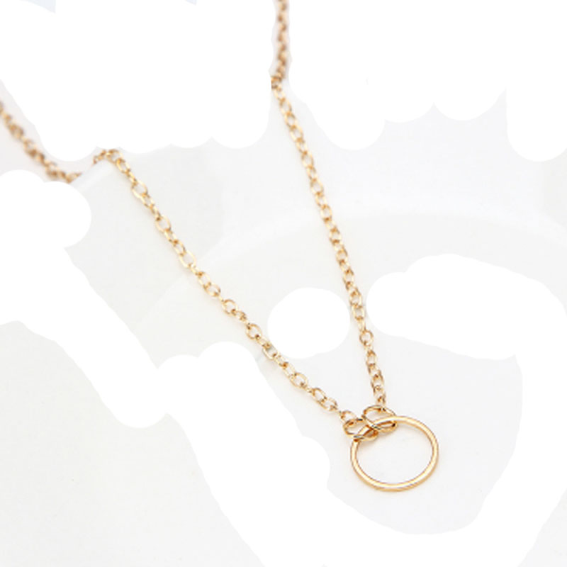 1Pcs-Classic-Circle-Shape-Pendants-Necklaces-Collares-Minimalist-Jewelry-Dainty-Women-Girl-Necklace-Gift-Bijoux-Chain (1)