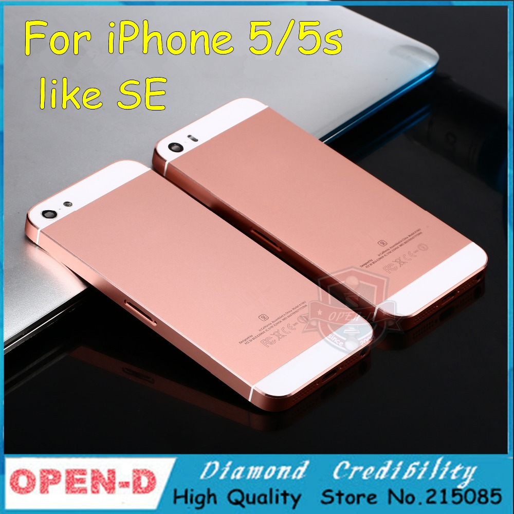 popular iphone 5 gold housing buy cheap iphone 5 gold housing lots from china iphone 5 gold. Black Bedroom Furniture Sets. Home Design Ideas