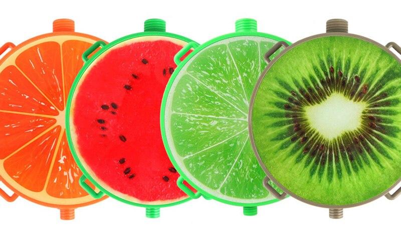 1pcs Creative Fruits Water Gun Toy Outdoor Games Summer Kids Beach Kiwi Lemon Backpack Water Guns Spray Toy Manual Pressure Toy (2)