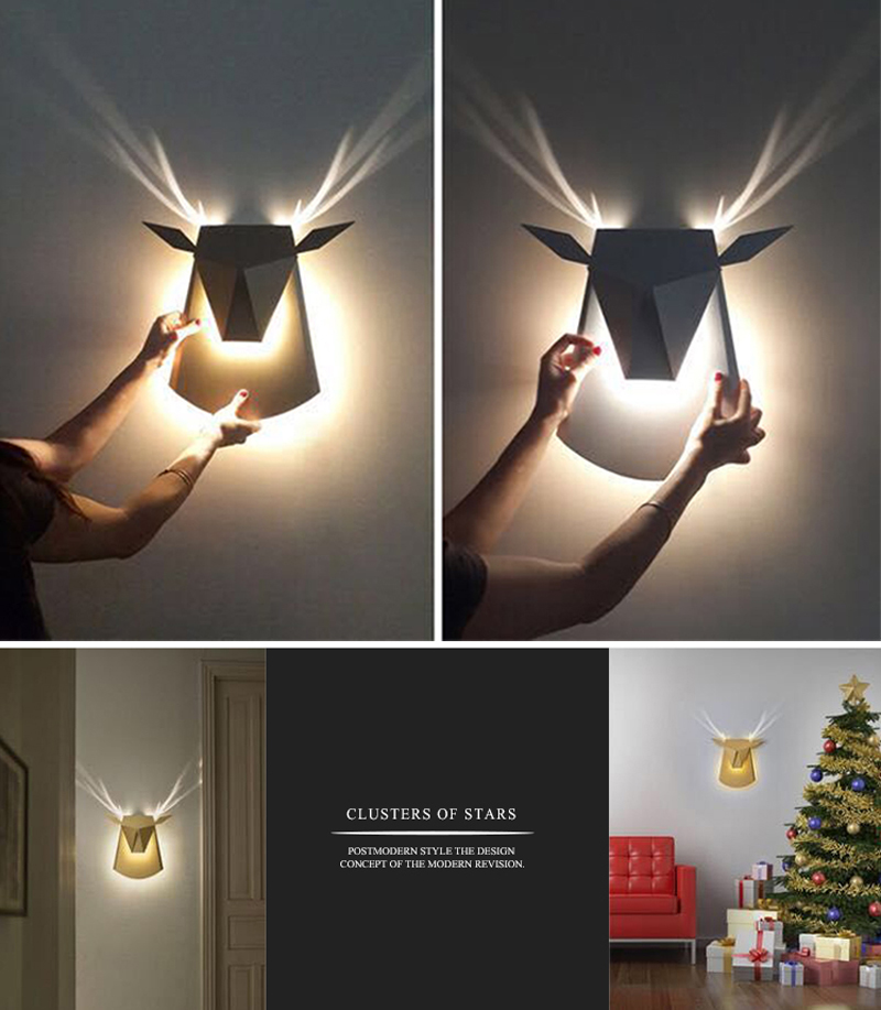 US $84 28 14% OFF|Up Down Light Wall Sconce Iron Luminaires Modern LED Wall  Lights Wrought Iron Wall Decor Picture Light Wall Lamps Bed room-in LED