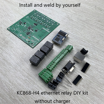 Kincony 4 TCP relé IP Control Canal 4 alarma canal PCB tablero Samrt domótica inteligente módulo controlador Ethernet
