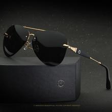 0daa50d1496 2019 high quality Frameless Polarized Sunglasses Men uv400 Brand Designer  Oculos De Sol Driving Fishing Sun