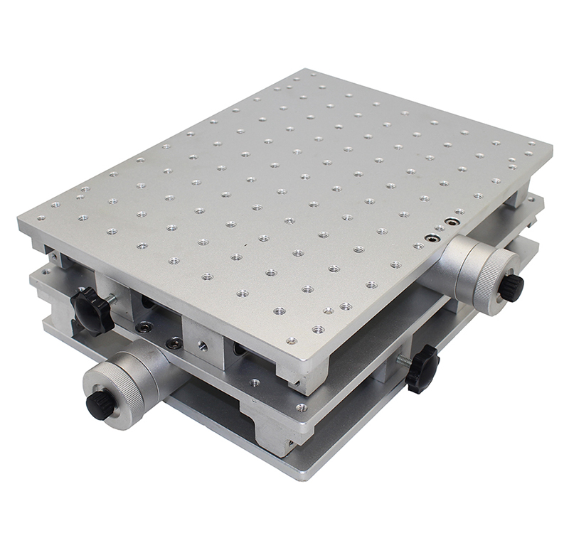 2 Axis Moving Table Portable Cabinet Case XY Table For Laser Marking Engraving Machine 300x220x90MM 210x150x75MM Y