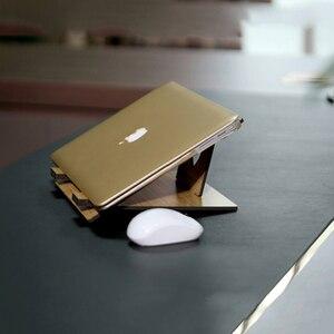 Image 3 - Arvin 인체 공학적 노트북 스탠드 macbook pro 접이식 냉각 노트북 홀더 조정 가능한 휴대용 pc 스탠드 lapdesk suporte notebook