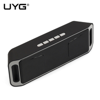 UYG Portable Wireless Bluetooth Speaker Receiver Mp3 Player For U Disk And TF Card And Iphone
